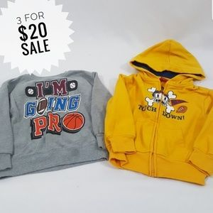 Boys Sweatshirt Bundle Size 24 Months